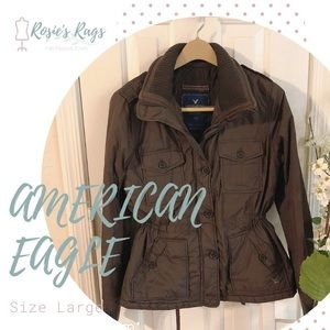 American Eagle Bomber Winter Jacket